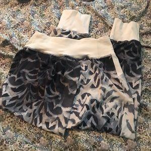 Cropped Lululemon pants